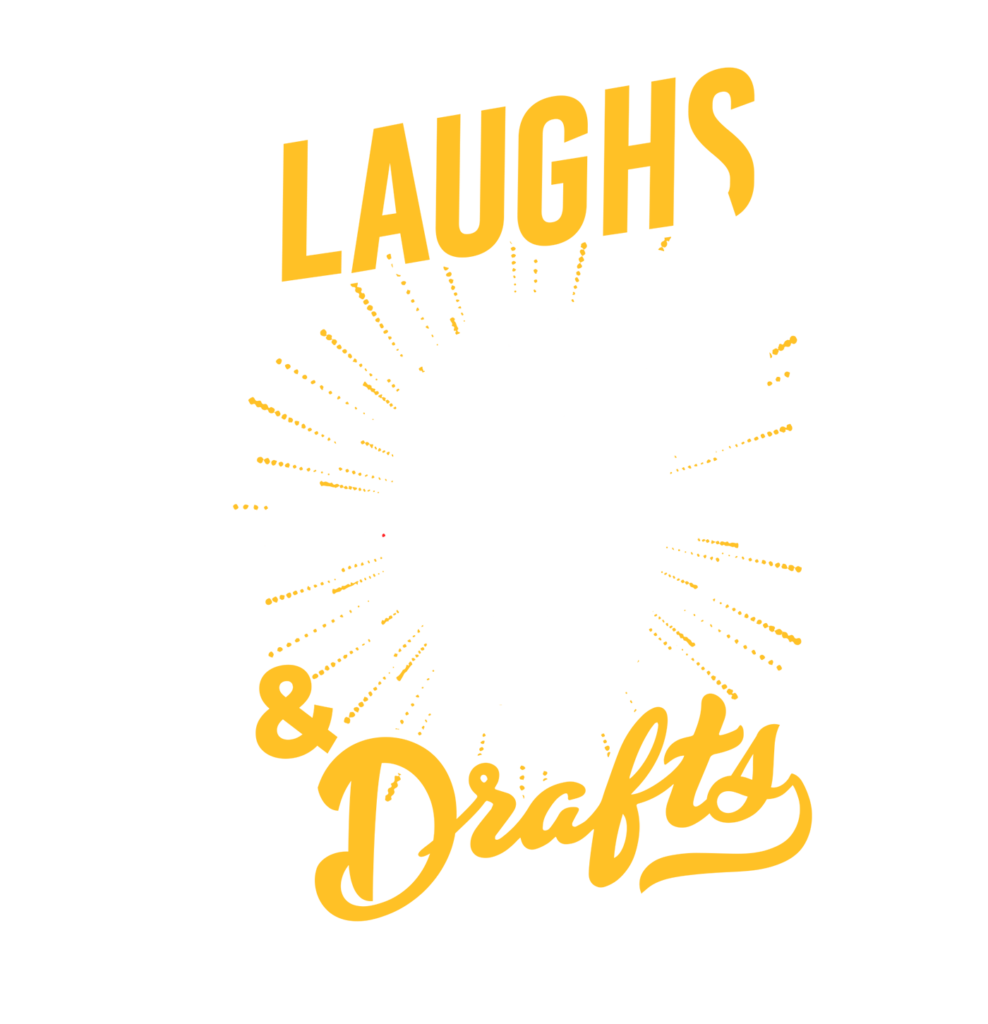 Laughs and Drafts Tour logo