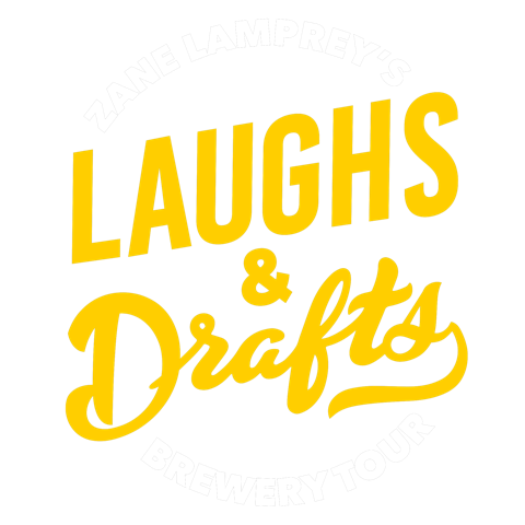 Laughs and Drafts Logo